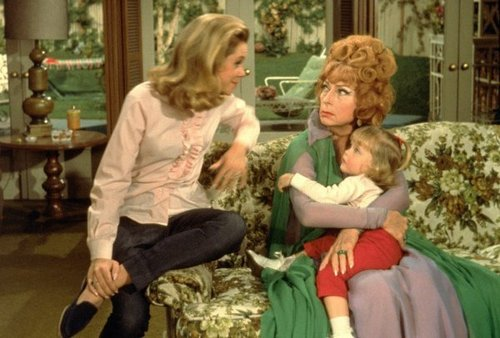 Samantha with Endora and Tabatha