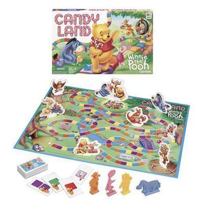 Winnie the Pooh Candy Land