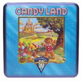 50th Anniversary Candy Land Tin