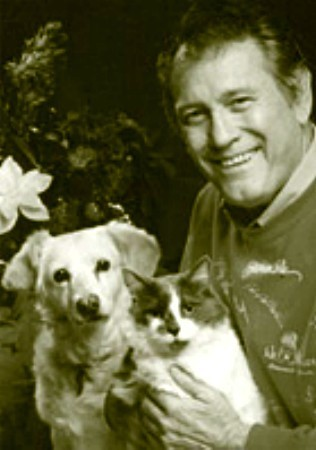 Actor Earl Holliman and mga kaibigan