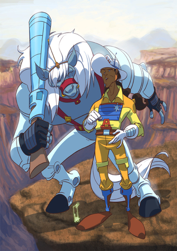 Bravestarr & Thirty thirty