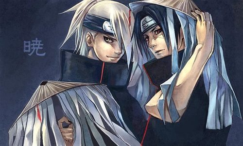 Deidara and Itachi's hotness...
