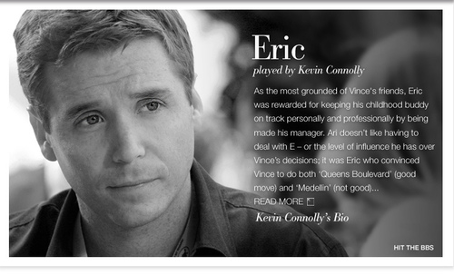 Eric Murphy at HBO's Entourage
