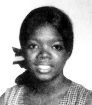 Oprah when she was young
