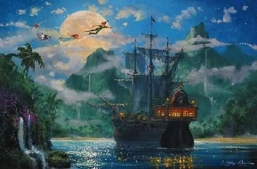 Peter Pan and Pirate Ship