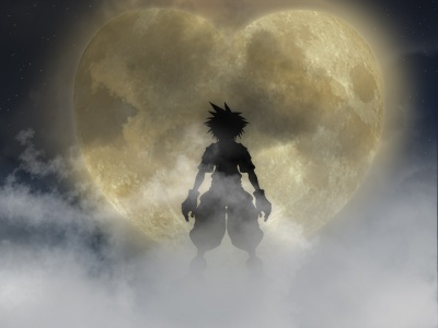 kingdom hearts moon and sora