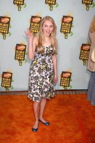 AnnaSophia at the 2008 Kids Choice Awards