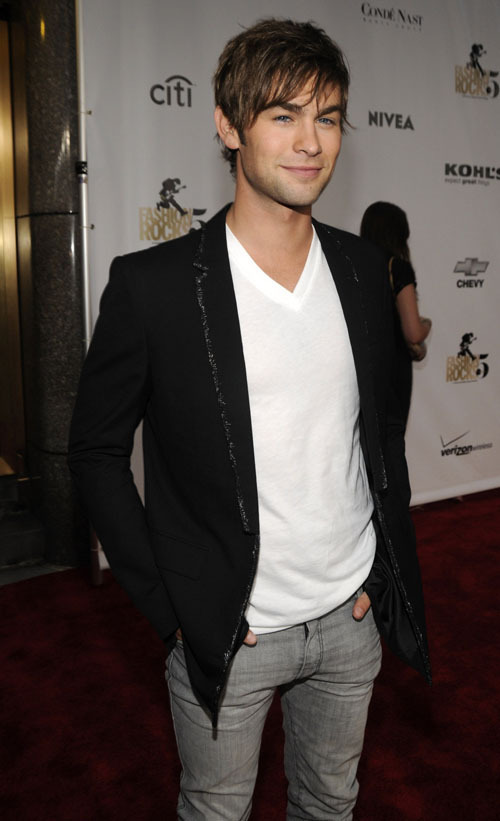 Chace at Fashion Rocks