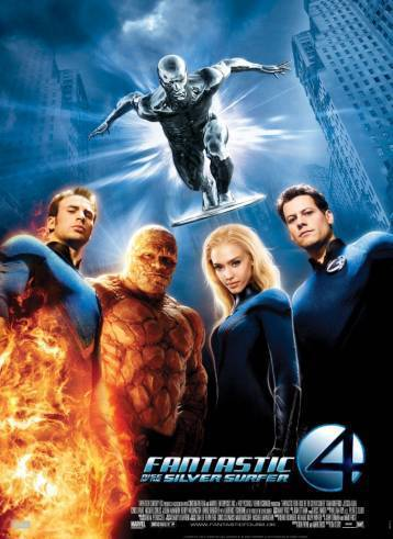 Fantastic four: rise of the silver surver