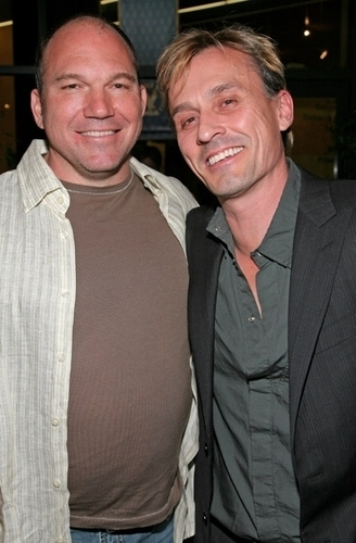 Wade Williams and Robert Knepper