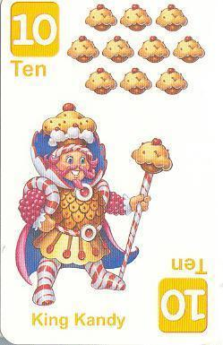 A Card from the Candy Land Card Game