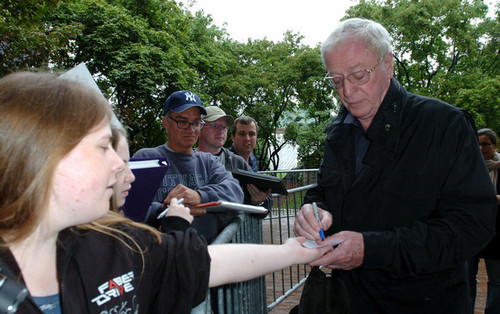 "Michael Caine at 2008 Premiere of ""Is There Anybody There?"""