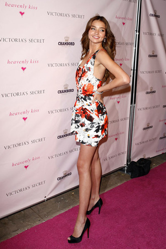 "Miranda Kerr Celebrates the launch of ""Heavenly Kiss"""