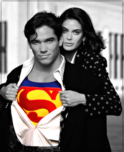 Dean cain as superman :edit:
