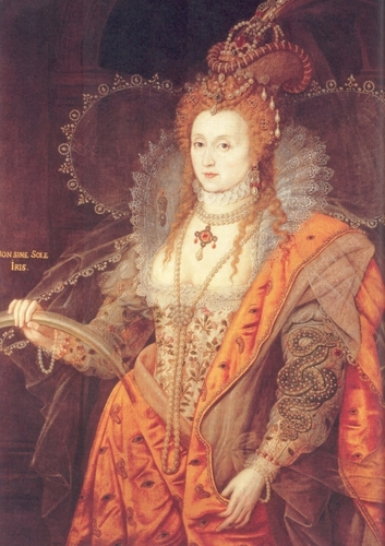 Queen Elizabeth I, Daughter of Henry VIII