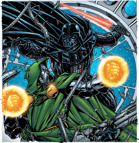 Dr Doom vs Darth Vader