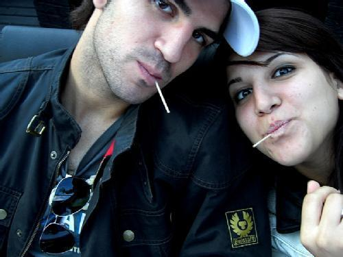 Fabregas and his sister