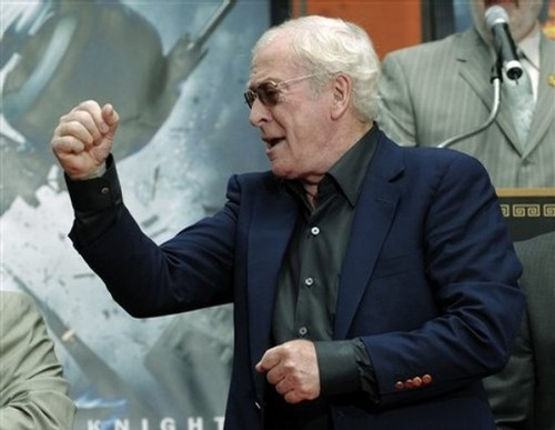 Michael Caine Celebrates at Walk of Fame