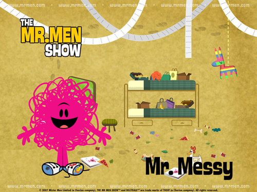 Mr. men tampil