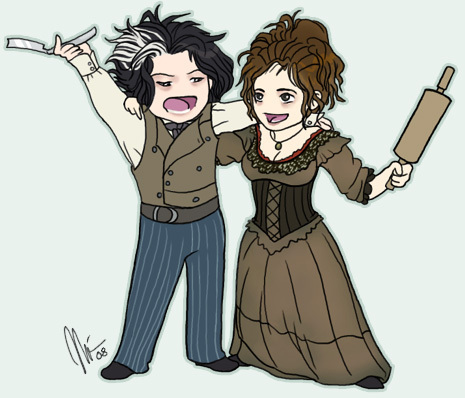 Sweeney and Mrs. Lovett
