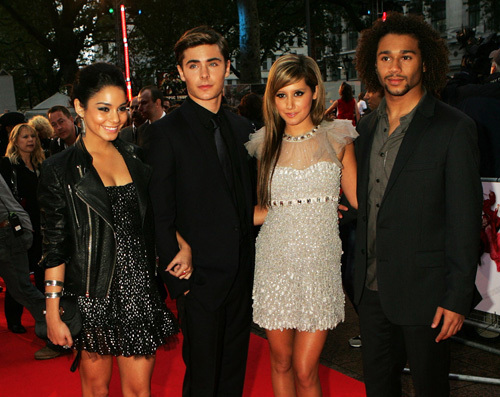 Zanessa @ London Premiere
