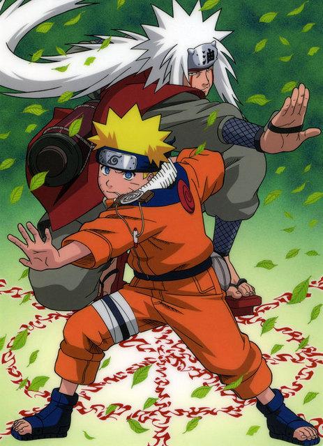 Jiraiya And Naruto Jiraiya Foto 2635022 Fanpop